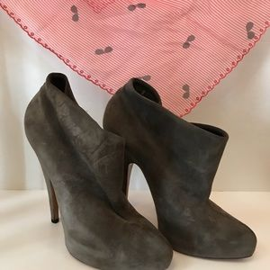 Givenchy Suede Booties